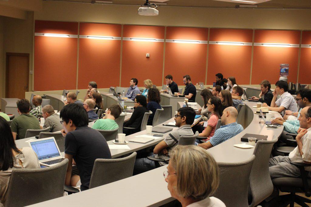 Attendees at the Third Frederick Jelinek Memorial Summer Workshop