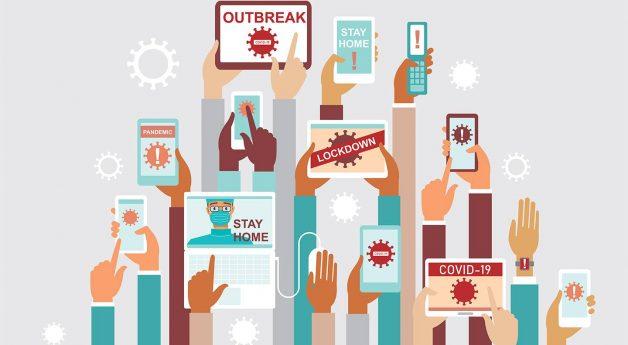 Social media fuels spread of COVID-19 information - and misinformation